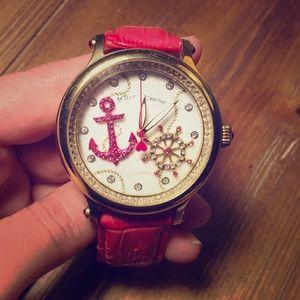 Betsey Johnson Pink Nautical Watch NWOT